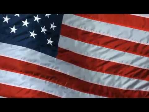 Animated Silk American Flag Screensaver