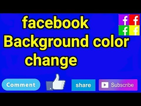 How to change Facebook Color using mobile easily way | Hindi/Urdu 2017