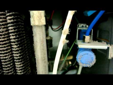 How to Clean a Refrigerator Condenser Coil - French Door SAMSUNG RF263 - improve efficiency
