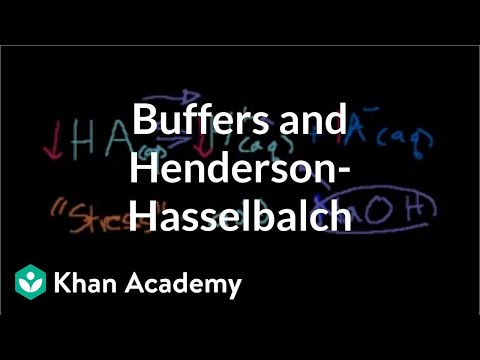 Buffers and Henderson-Hasselbalch | Chemistry | Khan Academy