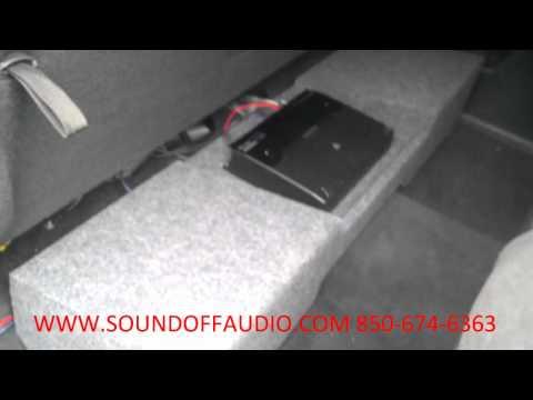 1999-2006 Chevrolet ext. cab speaker box with amp rack