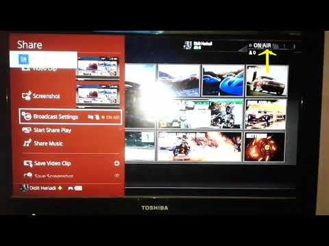 How to setting full screen live stream (Twitch ,youtube ,dailymotion) on PS4 live Broadcast