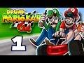 Drunk Mario Kart 64 EP 1 Mushroom Cup SuperMega