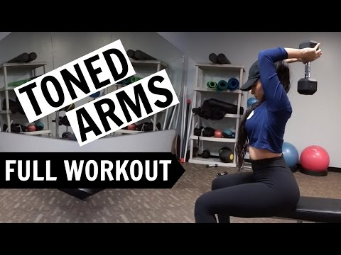 Toned Arms Workout | LOSE ARM FAT