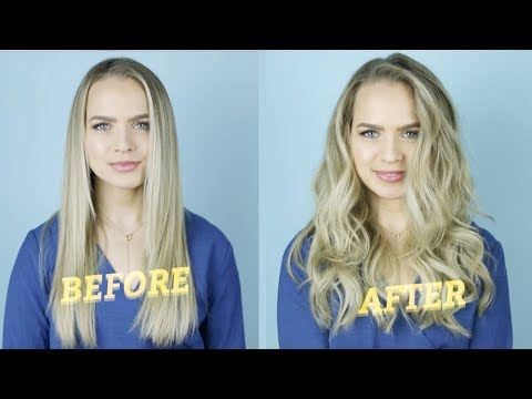 How to Get Volume Without Hair Extensions - KayleyMelissa