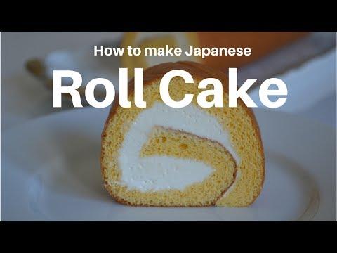 How to make ★Japanese Roll Cake★ロールケーキの作り方(EP12)