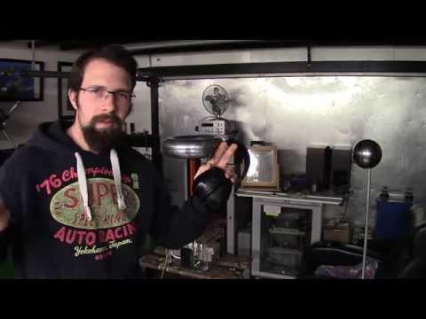 Static Spark Gap Tesla Coil Demonstration