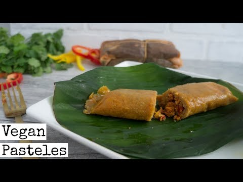 Vegan Pasteles Recipe