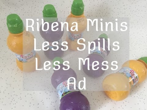 Less Spills Means Less Mess With Ribena Minis Ad