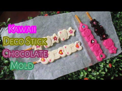 Kawaii Deco Stick Chocolate Mold