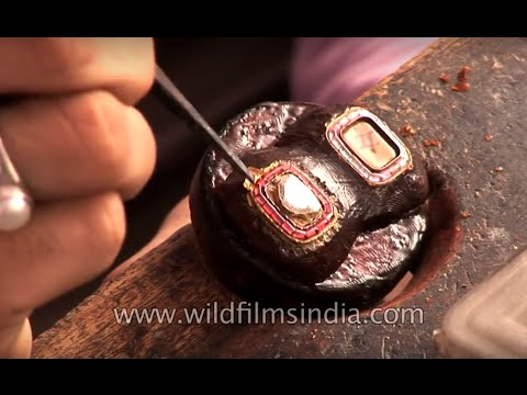Kundan jewellery making made easy  - The Best of India