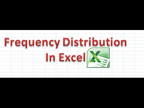 How to Apply Frequency Distribution in Pivot Table