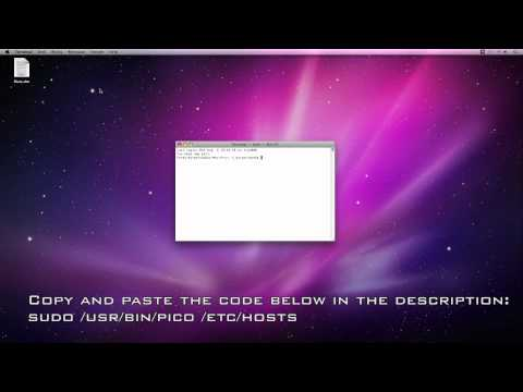 How do you block a website on a Mac