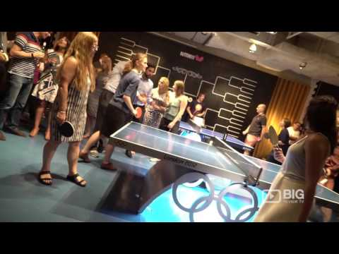 Bounce Farringdon a Sports Bar in London offering Beer and Ping Pong Games