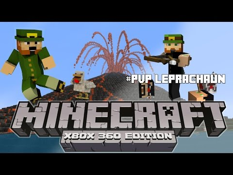 Minecraft Xbox 360 Hunger Games with friends.