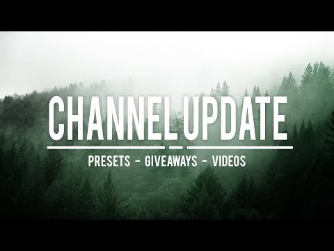 PRESETS FOR SALE | MASSIVE GIVEAWAY!!! | FREE SHOUTOUTS | UPDATE VIDEO