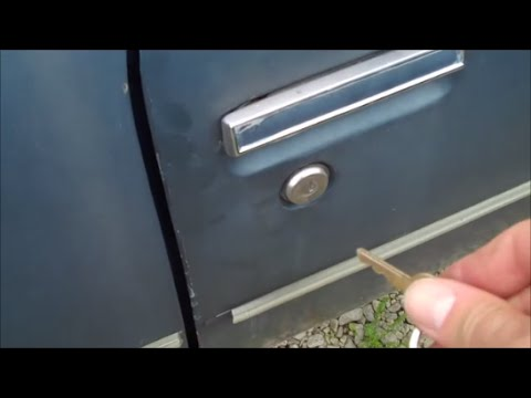 Classic Gbody Garage - Lock Set Replacement