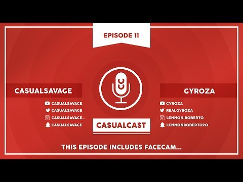 YouTube Removing Partners?! ft. Gyroza | CasualCast #11