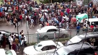 Dhaka college satroder bus vangchur