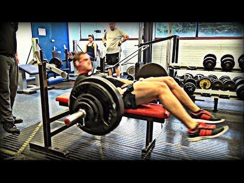 347lbs (157.5kg) BENCH PRESS FAIL!!