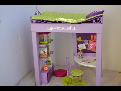 Setting Up American Girl Doll McKenna's Loft Bed
