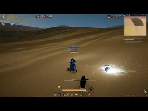 Black Desert Online Golden Desert Coin Story Quest (It has been moved to the CENTRE of the circle!)
