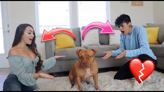 Testing Our Dog To See Who She Loves More... *SHOCKING*