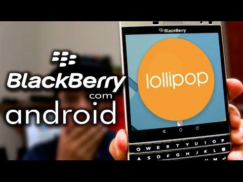 BOMBA!!!! Veja o 1º Blackberry do mundo rodando android!