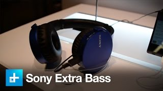 Sony Extra Bass Lineup - Hands on at CES 2016