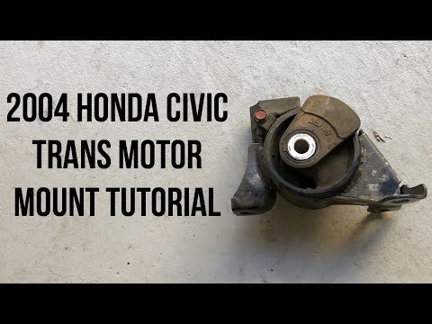 2004 Honda Civic Transmission Motor Mount Replacement