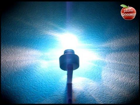 DIY Sky Lamp - How To Paint Lamp (Bulb) For Sky Effect - Room Design and Decor Ideas