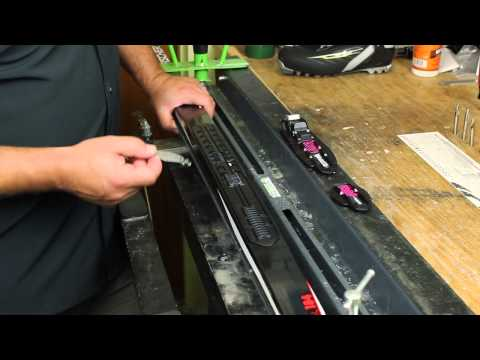 Installing an NIS Cross Country Ski Binding