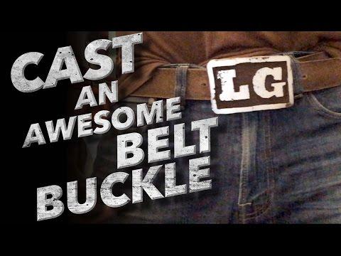 Lost Foam Casting - Belt Buckle