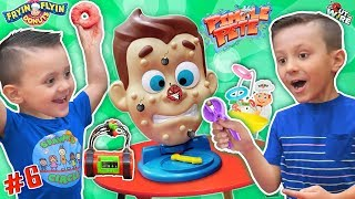 Shawns Circle: Pimple Pete's Dynamite Frying Flying Doh-Nuts 3 Games Challenge (#6) | DOH MUCH FUN