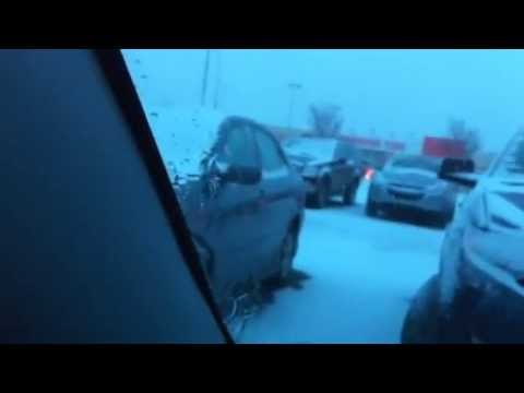 Non-freezing windshield fluid freezes in seconds!
