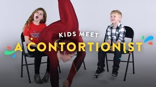 Kids Meet a Contortionist | Kids Meet | HiHo Kids