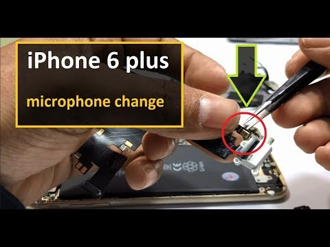 how to change iphone 6 plus microphone