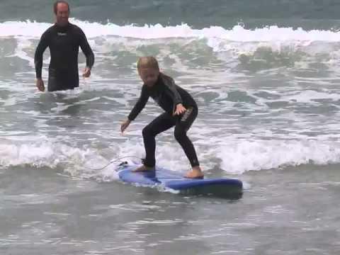 Surf Junky Kids Holiday Program at Omaha Beach, Auckland