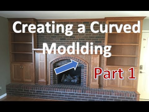 How to make accurate curved moldings with a router Part 1