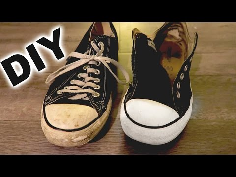 DIY - How to clean your converse EASY!