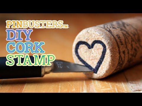 How To Make a DIY Cork Stamp // DOES THIS WORK???