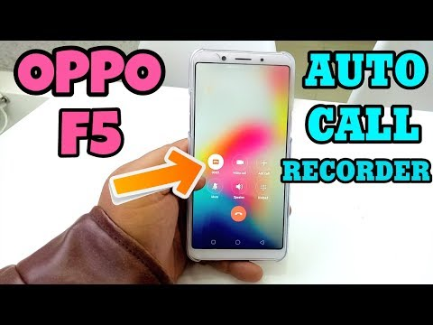 Oppo F5 Auto Call Recorder