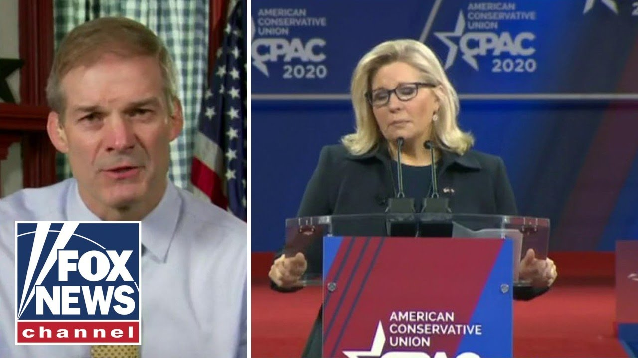 Jim Jordan: GOP 'for sure' has votes to oust Liz Cheney from leadership