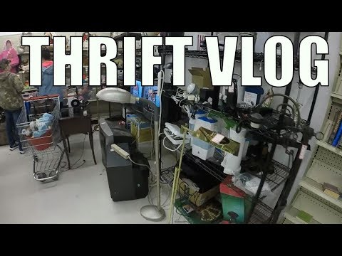 Thrift Store Shopping for Resale on eBay - Now Trying Kids Clothes?