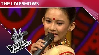 Manashi Performs On Gori Tera Gaon Bada Pyara   The Voice India Kids   Grand Finale
