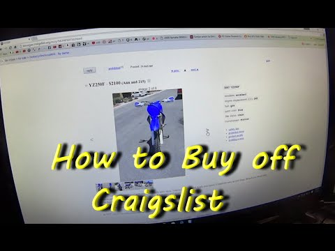 How to buy a motorcycle off Craigslist