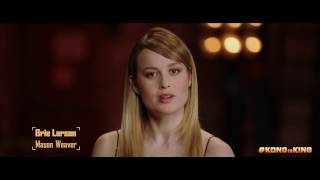 """KONG: SKULL ISLAND - """"Get Ready for the King"""" ft. Brie Larson"""