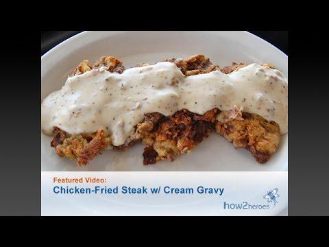 Chicken Fried Steak with Creamy Gravy