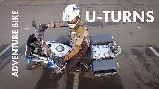 How To U-Turn on Adventure Motorcycles