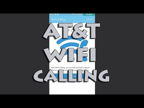 AT&T WiFi Calling Galaxy S7 - S7 Edge